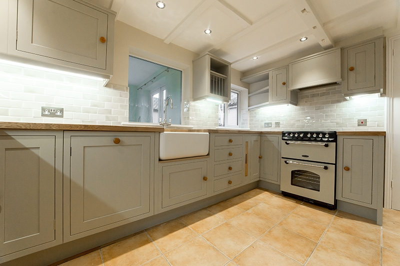 Make a Small Kitchen Feel Spacious